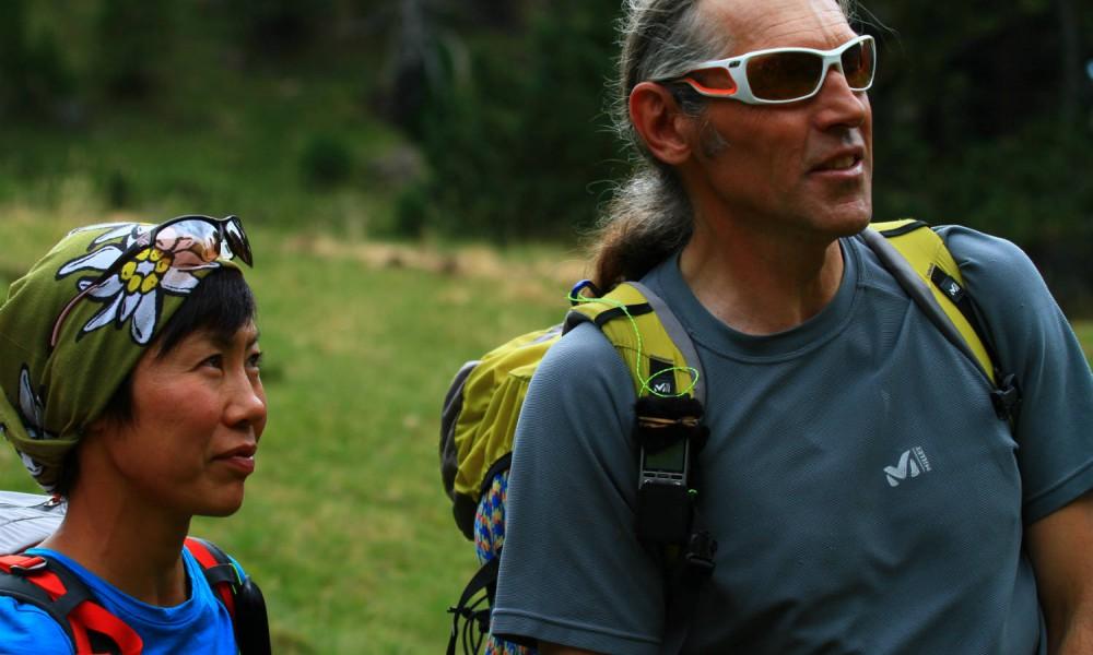 Kei Taniguchi, alpinista de oro